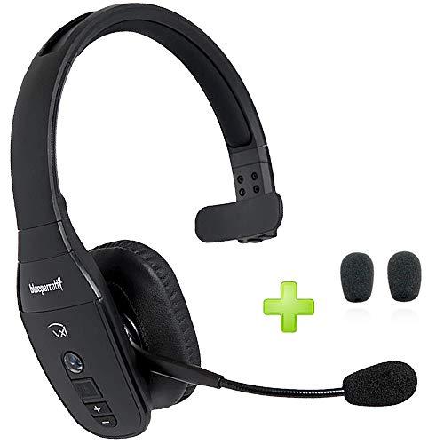 BlueParrott B450-XT Bluetooth Headset Headphones 204010-C | Trucker Bluetooth Headset | Audifonos Bluetooth Inalambrico de Blue Parrot