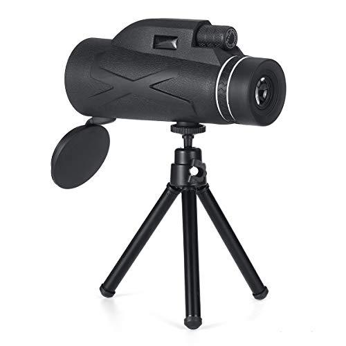 Nologo ZKWYJ 80x100 Portables Haute Puissance Jumelles Vision Professionnelle des Jumelles HD de Nuit monoculaire télescope Zoom Optique