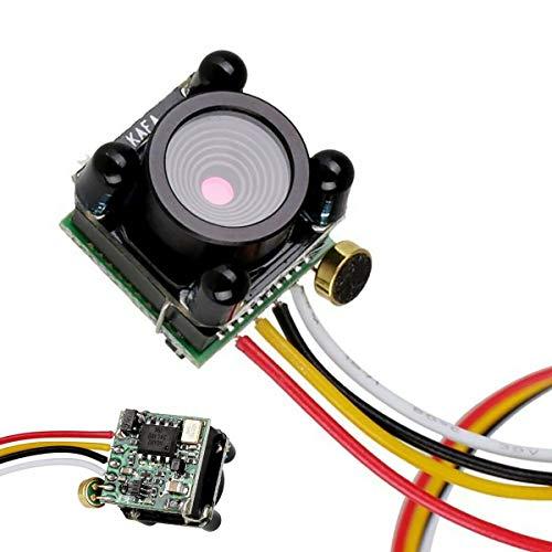 3g Micro Night Vision Camera 600TVL 720P Lens IR w/Audio for FPV RC Racing Drone