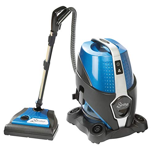 Sirena Water Filtration Canister Vacuum Cleaner, 2-Speed, Allergy/Pet Pro