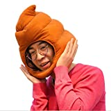 Weesey Parodie Macken, sombrero divertido de peluche, sombrero de juguete, disfraz de fiesta, vestido de fiesta, sombrero suave para adultos y niños