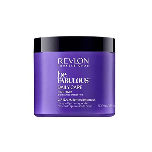 Revlon Professional Be Fabulous Daily Care Fine Hair C.R.E.A.M. Lightweight Mask, 1er Pack (1 x 500 ml)