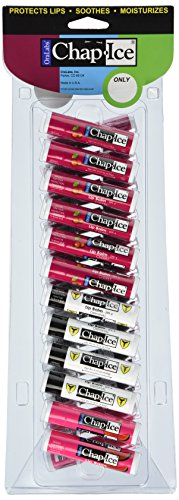 Chap-Ice Assorted Lip Balm (Pack of 24) (0.15 Ounce New Mini)