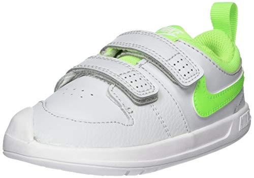 Nike Pico 5, Zapatillas Unisex Niños, Platino Puro/Verde ELÉCTRICO-W, 25 EU
