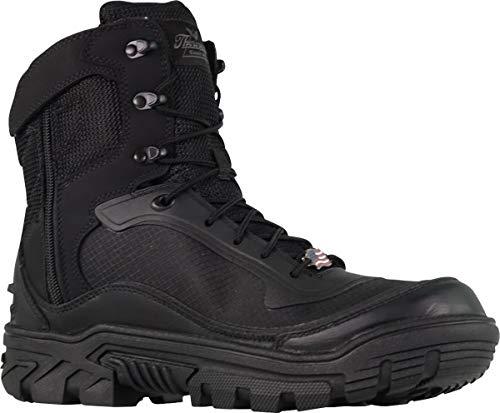 "Thorogood 834-6016 Men's Veracity GTX - 7"" Waterproof Tactical Side-Zip Boot, Black - 11.5 W US"
