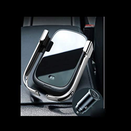 IMBM Auto telefoon houder draadloze oplader volledige automatische inductie Apple Huawei auto supplies