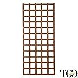 Griglia in legno per esterno Hortus color castagno 77 x 180 cm