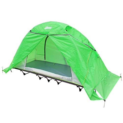 Signstek Zeltbett für 2 Personen, Off-Ground Outdoor Camping, wasserdicht, Ultraleicht, mit Abnehmbarer Schlafplattform