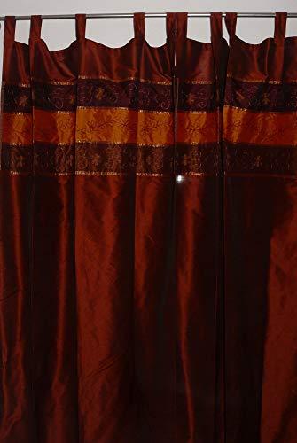 Marrakech Accessoires Orientalischer Vorhang Schlaufen Schal Bestickt 110 cm x 235 cm (1 Stück) - 905306-0019