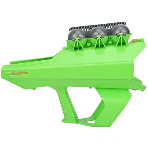Pistola lanzadora de Bolas de Nieve, Fabricante de Bolas de Nieve 2 en 1, Interesante Hacer Bolas de Nieve al Aire Libre para niños lanzando Bolas de Nieve para Adultos((Green))