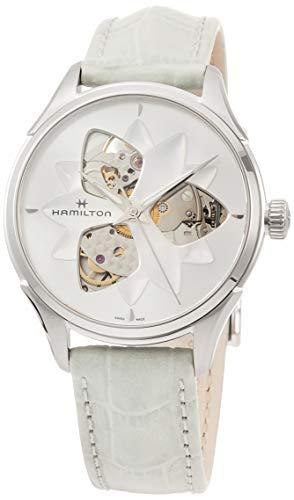 Hamilton Jazzmaster Open Heart Lady H32115891 Damen Automatikuhr Offene Unruhe