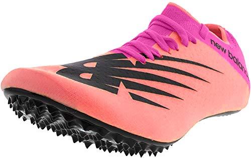 New Balance Men's Sprint Vazee Sigma V1 Spike Running Shoe, Guava/Peony, 9.5 M US