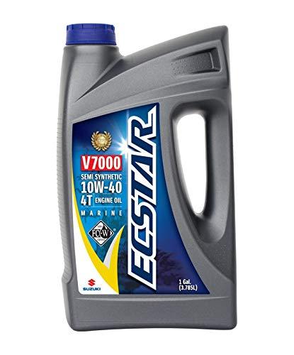 Suzuki ECSTAR V7000 10W-40 Marine 4-Stroke Engine Oil, 1 Gal (990C0-01E30-GLN)