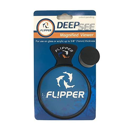 Flipper DeepSee Vergrößerter Magnetischer Aquariumspion 10,2 cm