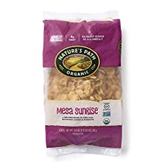 CONTAINS: 6 Eco Pac bags of Nature's Path Mesa Sunrise cereal, 26.4 Ounces in each Eco Pac bag SATISFYINGLY GOOD: Inspired by the traditional foods of the Mesa Verde mountains, our Mesa Sunrise cereal is a delicate blend of organic corn, quinoa, buck...
