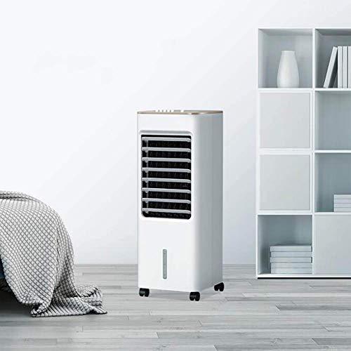 Miwaimao Famiglia Compatto Ventilatore Portatile Condizionatore D'aria, Mini Ventilatore Di Raffreddamento, 5l Serbatoio Acqua 50w Basso Potere 4 Ruote Caster Risparmio Energetico-a,A