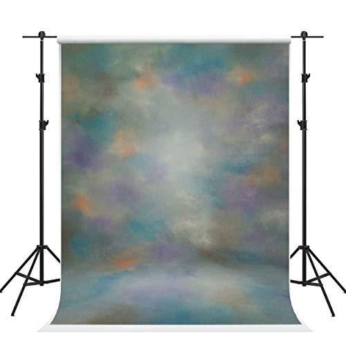 Kate 5×7ft (1.5×2.2m) Photographie Abstraite Toile de Fond Texture Photo Fond Portrait Retour Tissu pour Photographe