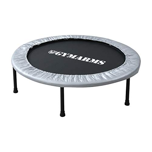 Yamazen OTP-90/OTP-100 Trampoline 36.2/40.2 inches (92/102 cm), Safe Elastic Type, Fold-up, Kids, Adults, Quiet, For Home, 3Colors