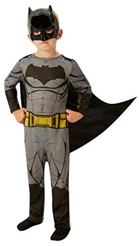 Rubie's Rubies 3620552–Costume da Batman per bambini, nero