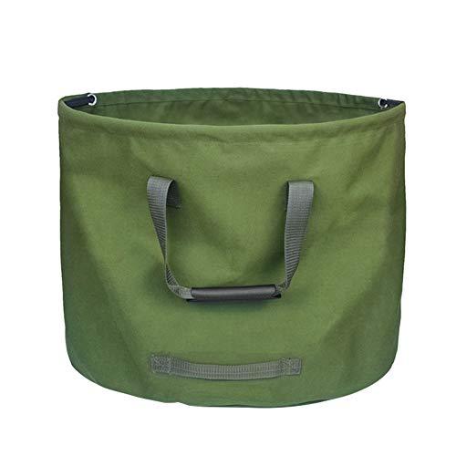 Garden Waste Bags Reusable Rubble Sacks Heavy Duty Leaf Bag Dumpy Bags for Outdoor Yard Garden Lawn