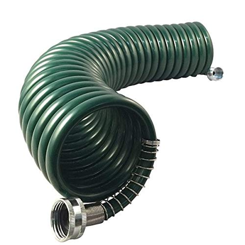 Flexon CH1225CN Coil Garden Hose, 25ft, Green