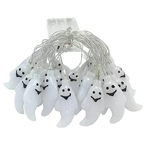 Halloween String Lights, 20led Ghost Fairy Light Batterij Powered String Lights voor Indoor Outdoor (3Meter), Kleurrijk…