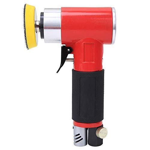 Amoladora Angular, Operación Simple Pulidora Neumática 15000 Rpm Velocidad Fuerte Estable Sin Ranuras Profundas Pulidora De Aire Para Pulido Fino Para Pulido(Excéntrico)