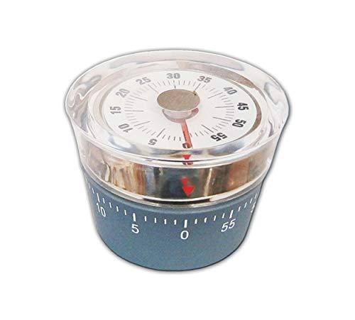 KURZZEITMESSER grau Eieruhr Küchentimer Wecker Küchenuhr Küchen-Timer 60 min 46