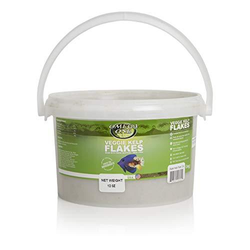 Omega One Veggie Kelp Flakes 12 oz Container