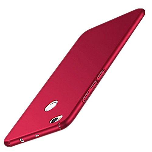 XMT Xiaomi Redmi 4X 5.0' Custodia,Ultra Sottile PC Back Case Protettiva Custodia per Xiaomi Redmi 4X Smartphone (Rosso)