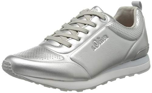 s.Oliver 5-5-23606-24, Zapatillas Mujer, Plata 941, 37 EU