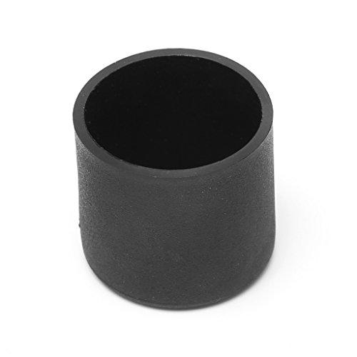 Manyo 4 Stücke Kunststoff fußkappen, Rund, 6 Größen zu wählen, Rutschfest und Wasserdicht, 9 Größen zur Auswahl, Ideal für Stuhl, Schreibtisch, Sofa und andere Möbel. (35I) (25mm)