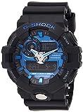 Casio Men's G Shock Quartz Watch with Resin Strap, Grey, 28 (Model: GA-710-1A2CR)