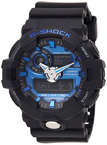 G-Shock Men's Analog Digital GA710-1A2CR Watch Black