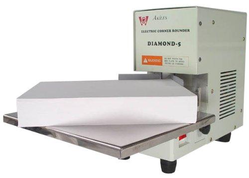 Akiles Diamond-5 (ACR-50) Electric Corner Rounder / Corner Cutting Machine w/ 1/4' & 1/8' Die from ABC Office