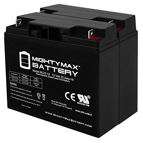 Mighty Max Battery ML22-12 - 12V 22AH Schumacher...
