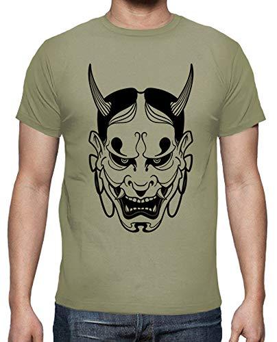 latostadora - Camiseta Mascara de Hannya para Hombre