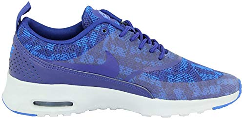 Nike Womens air max thea JRCRD Running Trainers 718646 Sneakers Shoes (UK 6 US 8.5 EU 40, deep Royal Blue deep Royal Blue soar Pure Platinum 401)