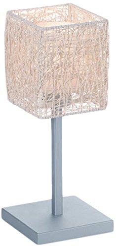 CristalRecord Alexandra Lámpara de sobremesa, crema, 150 x 150 x 380 mm