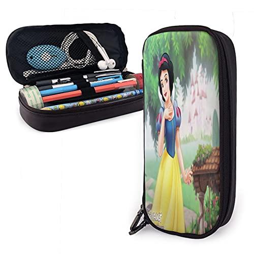 Estuche para lápices de princesas de Disney, gran capacidad, compartimentos para lápices, organizador de escritorio, papelería, para escuela y oficina