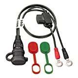 Tecmate Optimate Cable O-01, Weatherproof Battery Lead, powersport
