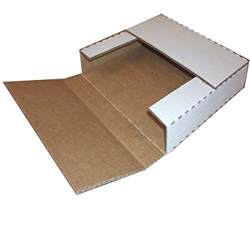 """100 Record lp Mailer Mailers White Holds 1 to 4 Albums - 12"""" Record LP Vinyl Cardboard Multi-Depth Closure by ValueMailers …"""