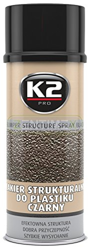 Kunststoff-Struktur-Lack Struktur-Farbe schwarz Strukturbeschichtung Lack-Spray Sprüh-Lack Sprüh-Farbe Auto-Lack Stoßstange Spoiler Stoßfänger Seitenleisten Außenspiegel Seitenspiegel-Gehäuse Stoßstangen-Lack Kunststoff-Lack schwarze Kunststoffteile
