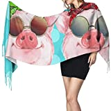 Photo de Yuanmeiju Écharpe longue mode femme Soul Sisters Pigs Men Long Shawl Scarf Winter Warm Soft Pashmina Scarf