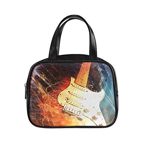 Bolsos de moda para niñas Jazz Rock Cool Guitarra eléctrica para niño...
