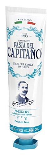 Pasta del Capitano 1905 Dentifricio per Fumatori, 75 ml - [confezione da 6]