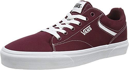 Vans Herren Seldan Sneaker, Rot ((Canvas) Port Royale/White 8J7), 44 EU