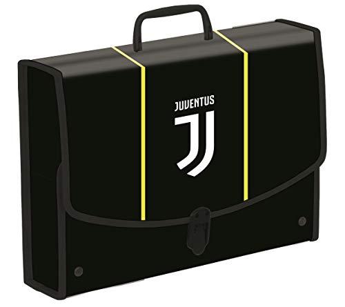 Cartellina Valigetta Polionda Juventus, Best Match, Nera, per Materiale da Disegno