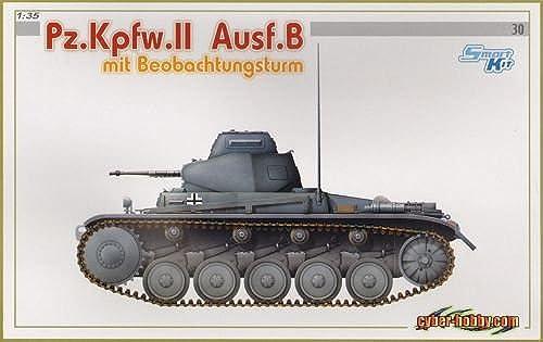 ¡no ser extrañado! 6295 6295 6295 1 35 Pz.Kpfw.II Ausf.B w Beobachtungsturm Wht Box by Cyber Hobby  venta directa de fábrica