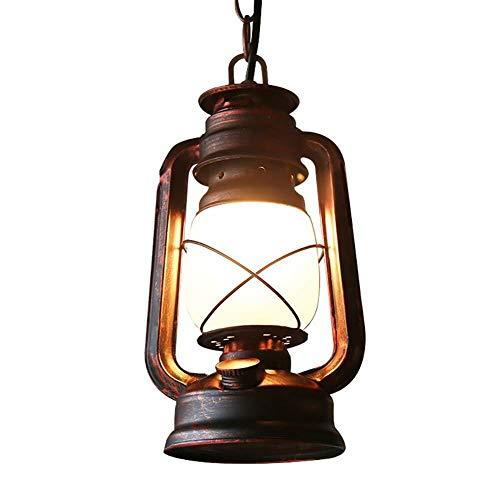 DBL Kronleuchter Petroleumlampe chinesischen alte Öllampe Retro Vintage Horse Lamp klassische antike Bartisch Café Balkon Schmiedeeisen Kronleuchter Leuchter